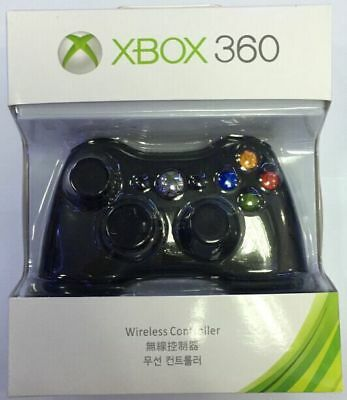 Microsoft Xbox 360 Wireless Controller Remote (BK/WT) - Brand NEW! USA Seller
