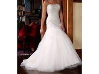 Phil Collins Wedding Dress size 10-12