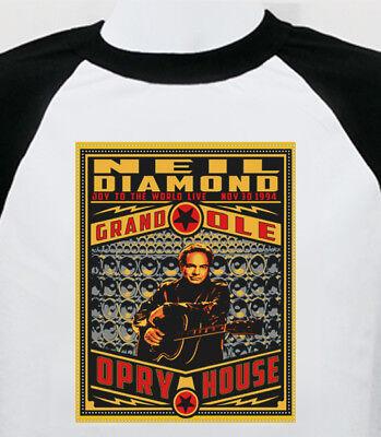 Neil Diamond new T SHIRT  pop rock  all sizes s m lg xl