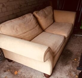 Arighi Bianchi Beige 3 seater sofa, only £70