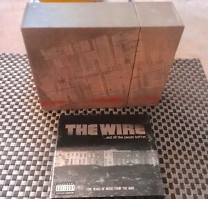 The Wire - The complete TV series (5 seasons) on DVD