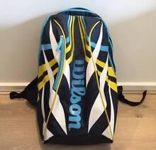 Wilson Tennis Racket Bag Backpack Brighton East Bayside Area Preview