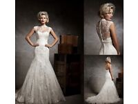 Brand New Half Price, Justin Alexander Wedding Dress (Size 12)