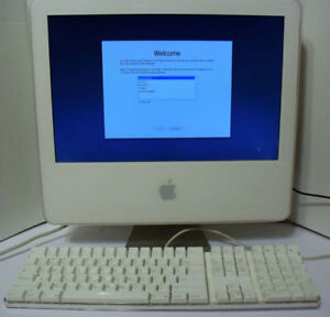 """Apple 17"""" All-in-One iMac 4.1 Core Duo 1.86GHz 1GB RAM 160GB HDD"""