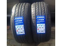 2 TYRES 225 40 18 92w extra load tyres brand new C C rated