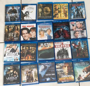 20 Blu-ray DVD bundle