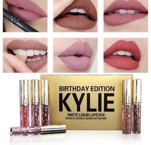 Kylie Jenner Ltd Edition Birthday Liquid Mini Matte Lipsticks