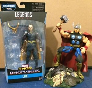 THOR AND LOKI MARVEL LEGENDS ACTION FIGURES BOTH FOR $30