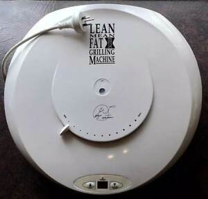 george foreman lean mean fat reducing grilling machine manual