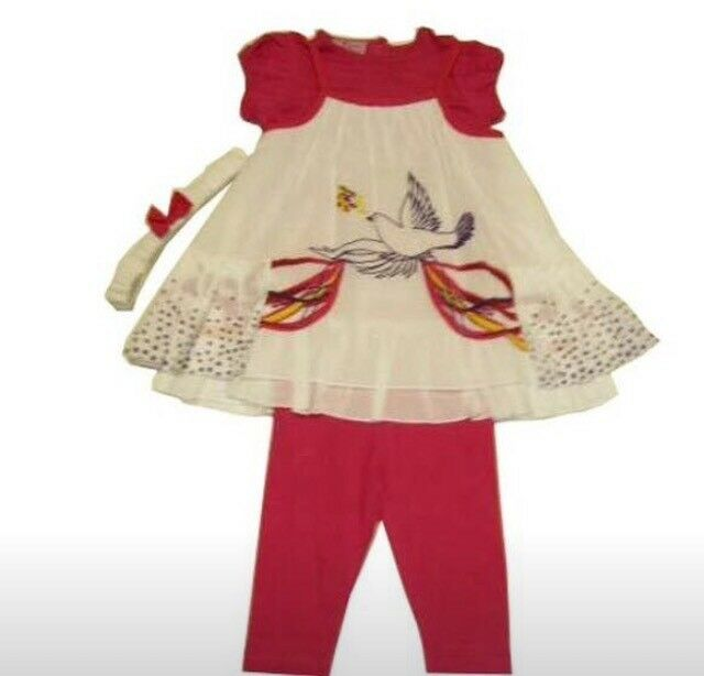 Baby girls 4 piece outfit