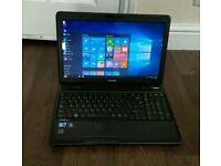 Toshiba laptop, core i3, 4gb ram, Microsoft office , Windows 10