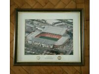 Manchester United Framed Picture Of Old Trafford