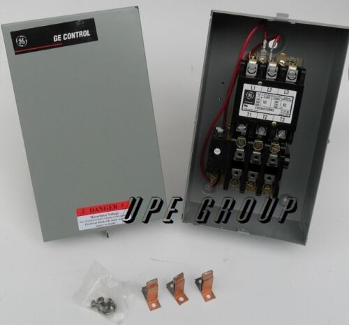 NEW GE Magnetic Motor Starter 50amp 15hp 3ph 230v for compressor