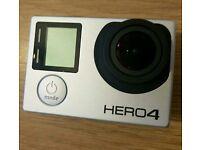 Gopro hero 4 Black and Smart Remote
