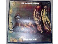 BLACK WIDOW: SACRIFICE. ORIGINAL 1970 PRESSING OF THIS HEAVY METAL ALBUM. £31.99 OVNO