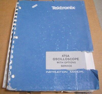 Tektronix 475a Oscilloscope User Service Manual