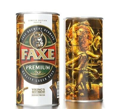 Faxe beer can VIKING'S Best Friend Part 4 Seductress volume 900 Limited Edition