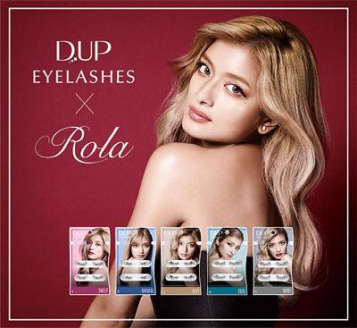 D.U.P False Eyelashes ROLA Collection (Sweet/Natural/Sexy/Cool/Mode) - US Seller