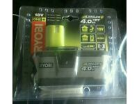 Ryobi 4.0ah battery