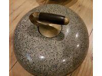 **£155** Vintage Curling Stone