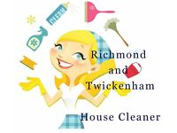 Richmond and Twickenham house cleaner