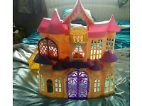 Sofia the First castle and figures