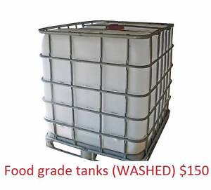 FOOD GRADE IBC POD TOTE TANK FULL CAGE, WASHED/CLEANED Capalaba Brisbane South East Preview