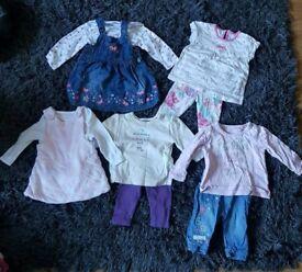 Baby girls clothes newborn 0-3months