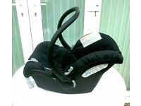 Baby Carrier and Car Seat and Free baby bath. I will steam clean it for your peace of mind.