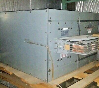 Square D I-line Ii Busway Switch Tap Box 2000 Amp 600 V 3p 3w Cfr2320getbmbm54