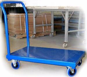 Chariots à Plateforme en Acier - Manutention d'équipement - Conception sur mesure
