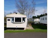 Deluxe 3 bedroom/8 berth pet freindly caravan fot hire at Seton Sands