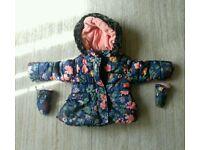 Girls Coat 12-18 months