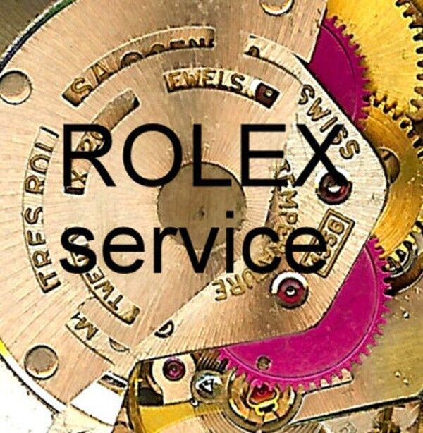 Service + Overhaul a + Repair by EXPERTS for ROLEX CHRONOGRAPH DAYTONA !