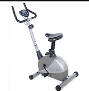 Stationary exercise bicycle