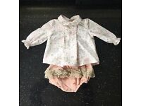 Baby girls Spanish outfit