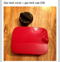 Gaz tank cover + cap