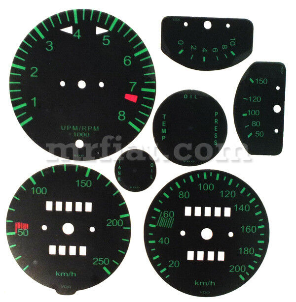For Porsche 911 912 1st Series Instruments Graphics Set New