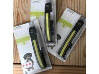 LED Dog Collar - x3 Size Small (36cm-40cm)