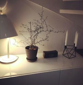 Modern geometric scandi candleholder
