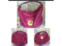 Mulberry large Daria Hobo Cerise