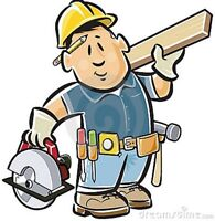 Need work done around or in your home?