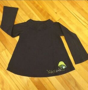 Gymboree Long Sleeve Navy Blue Shirt ( 6-7 years old )