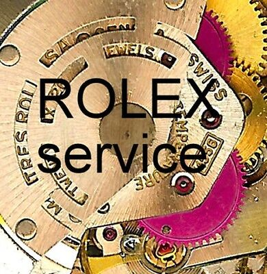 Service Overhaul Repair by EXPERTS for ROLEX Date Just