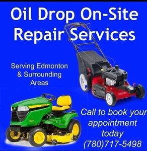 Onsite mobile lawn mower repairs and lawnmower tune ups