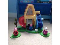 Peppa pig weebles toy
