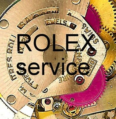 Service & Overhaul & Repair by EXPERTS for rolex DATE