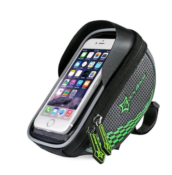 Borsa manubrio bici bicicletta mtb porta celulare smarthphone ROCKBROS
