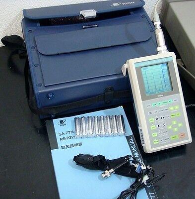 Rion Sa-77 1ch 50khz Fft Analyzer