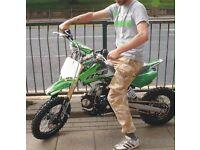 Bse 125cc dirt bike pit bike NEW